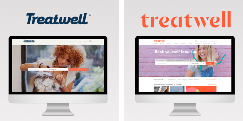 rebrand Treatwell